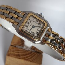 Cartier PANTHERE 18K.GOLD/STEEL-LADIES