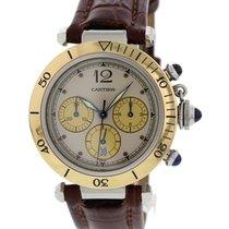 Cartier Pasha Chronograph SS & 18K YG 1032
