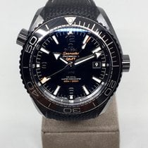 Omega Planet Ocean Deep Black Ceramic GMT Co-Axial  45.5 mm