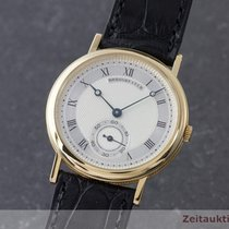 Breguet Classique 18k (0,750) Gold Handaufzug Herrenuhr Medium