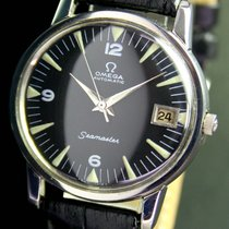 Omega Seamaster Automatic Date Vintage Steel Mens Watch