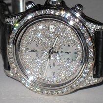 Breitling Chronomat Crosswind Stainless Steel Automatic Diamonds