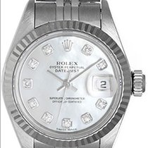Rolex Ladies Datejust Diamond Mop Ladies Watch 79174