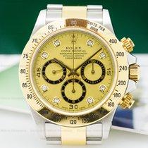 Rolex 16523 16523 Zenith Daytona SS / 18K Champagne Diamond...