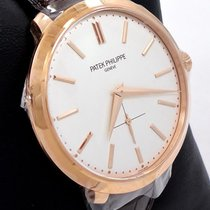 Patek Philippe Calatrava 5123r-001 18k Rose Gold Watch  Box...