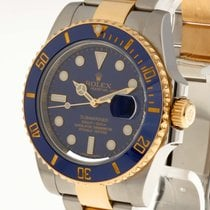 Rolex Oyster Perpetual Submariner Date Edelstahl/Gold an...