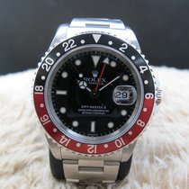 Ρολεξ (Rolex) GMT MASTER 2 16710 Coke Red/Black Bezel