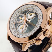 Quinting Mysterious Chronograph QRG43 18k Rose Gold  LTD 10pc