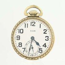 Elgin Pocket Watch Open Face 1947 16s 15j Not Running 20 575...