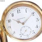 """Taschenuhr """"Chronometerhemmung"""" Gold ca. 1920"""