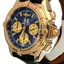Breitling Crosswind Special Yellow Gold Blue Dial 18 krt (43 mm)