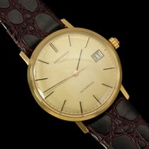 Longines Automatic with Quick-Setting Date - 18K Gold Plated...