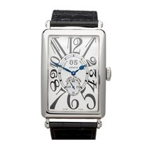 Franck Muller Long Island Big Date 18k White Gold Unisex 1200...