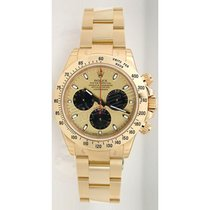 Rolex Daytona 116528 18K Yellow Gold With Factory Champagne...