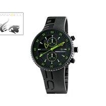 Momo Design Jet Black, PVD, Cronograph, 43mm., 5 atm