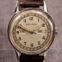Movado Calendograf Triple Calendar Quantieme Steel Watch Cal. 470
