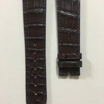 Zenith Brilliant Brown Alligator Strap 22 x 18 mm