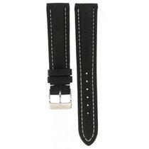 Breitling Black Leather Strap 117x 18mm/16mm