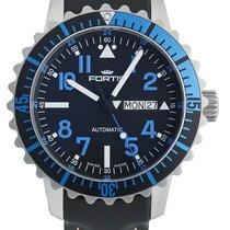Fortis Aquatis Marinemaster Day/Date Blue 670.15.45 L.01