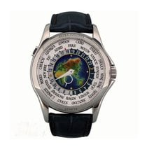 Patek Philippe White Gold World Time Cloisonné Dial