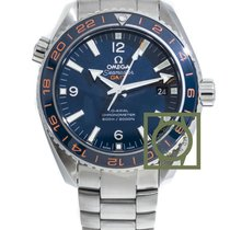 Omega Seamaster Planet Ocean GMT Good Planet 43,5 blue dial ...