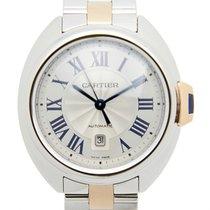Cartier Clé De Cartier Stainless Steel Silvery White Automatic...