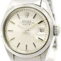 ロレックス (Rolex) Oyster Perpetual Date 6916 Steel Ladies Automati...