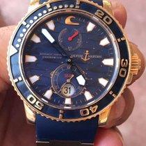 Ulysse Nardin Blue Surf Maxi Marine Diver 266-36le-3 Rose Gold