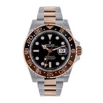Rolex GMT Master II Everose Gold &  Steel Watch 126711CHNR