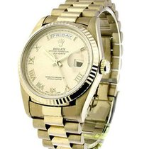 Rolex Used 18239 President Day Date Rolex in White Gold -...