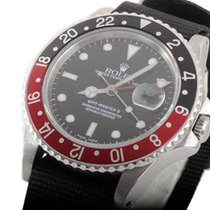"ロレックス (Rolex) Mens SS GMT-Master II - Black Dial / ""Coke&#..."