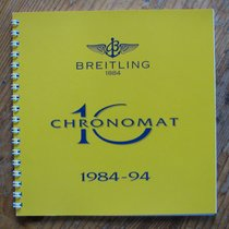 Breitling Chronomat 10 1984-1994 limited edition BOOKLET in...
