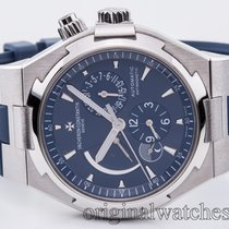Vacheron Constantin Dual Time Automatic Steel Blue 2015
