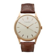 IWC Vintage 18k Rose Gold Gents Calibre 89