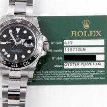 Rolex GMT Master II w/ Ceramic Bezel & Rolex Warranty Card...