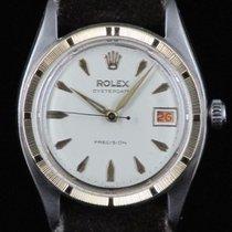 Rolex Oysterdate Precision 6494 Roulette Steel&Gold Manual