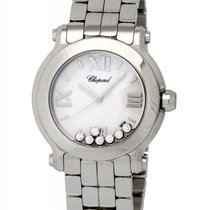 Chopard Happy Sport Round 36mm Quartz Ladies Watch – 278477-3001