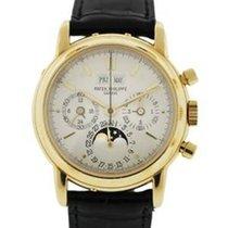 百達翡麗 (Patek Philippe) Gold Perpetual Calendar 3970 Mens Watch