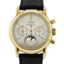 Patek Philippe Gold Perpetual Calendar 3970 Mens Watch