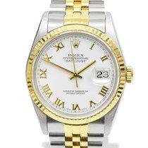 ロレックス (Rolex) デイトジャスト Datejust YG White Dial 16233