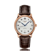 Longines Master Brown Strap Automatic Mens Watch L26288783