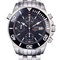 Davosa Argonautic Lumis Automatik Chronograph schwarz/rot...