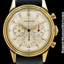 摩凡陀 (Movado) Vintage Chronograph 14k Ref 49038 Unpolished...