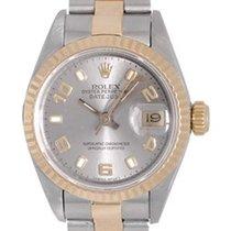 Rolex Ladies Rolex Datejust Stainless Steel & 18k Gold...