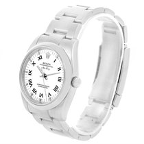 Rolex Air King White Roman Dial Automatic Mens Watch 114200