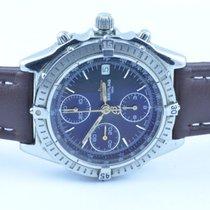 Breitling Chronomat Herren Uhr Stahl/gold 39mm Rar Schwarz ...