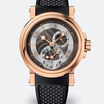 Breguet Marine 18K Rose Gold Dual Time (GMT)  Mens Watch