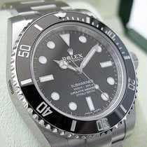 Rolex Submariner No Date 114060 Mens Stainless Steel Oyster...
