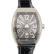 Franck Muller New  Vanguard Stainless Steel Gray Automatic V...