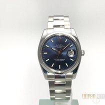 Rolex Oyster Perpetual Date 34 Edelstahl 115200 Blau aus 2008